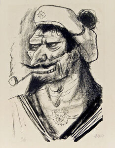 Otto Dix, 'Mediterranean Sailor'