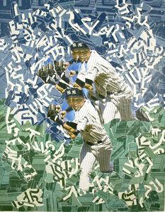 Michael Anderson, 'Derek Jeter 4 Luck 2009 World Series', 2009