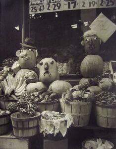John Albok, 'Fruit Face', 1940