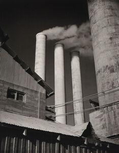 Willard Van Dyke, 'Three Stacks, Monolith California, Cement Plant', c. 1931-printed later