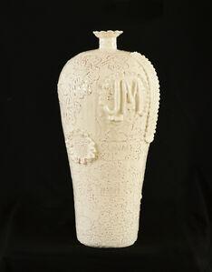 Jeffry Mitchell, 'Plum Vase', 2019