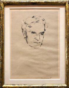 William Meyerowitz, 'Supreme Court Justice Hand Signed Etching Print', 1930-1939