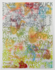 Rochelle Feinstein, 'Research Park Project: Pp', 2014