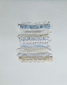 Bastienne Schmidt, 'Untitled (Grids and Threads)', 2018