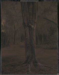 George Shaw (b. 1966), 'Study for Hanging Around (1) ', 2015-2016