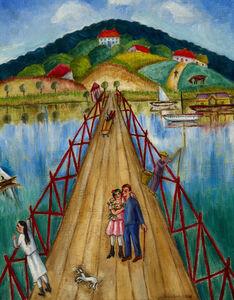Chana Kowalska, 'The Bridge', 1937