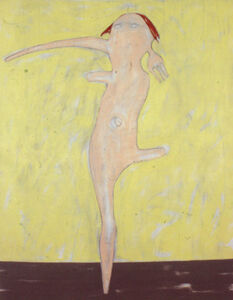 Nicola Tyson, 'Self Portrait Dancing', 2000