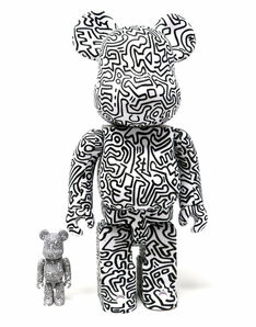 Keith Haring, 'Keith Haring Bearbrick 400% Companion (Haring BE@RBRICK)', 2019