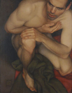Michael Leonard, 'Crouching Man', 2007