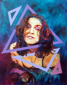 Btoy, 'Like a Prayer (Portrait of Madonna) ', 2013