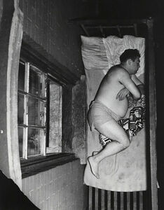 Weegee, 'Tenement Sleeping', 1950