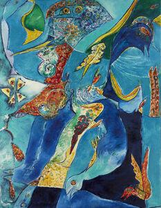 Carl-Henning Pedersen, 'Luftens Akrobater', 1978