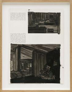 Alessandra Spranzi, 'Pagine dipinte #4, L'ambientazione di un soggiorno', 2016