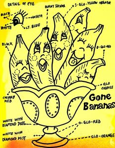 Joe Grillo, 'Gone Bananas', 2016