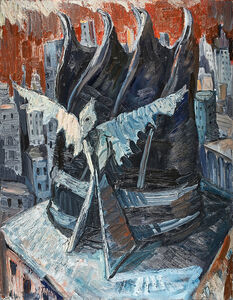 Chuck Connelly, 'Roof Top', 1983