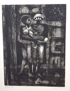 June Wayne, 'The Promenade', 1958