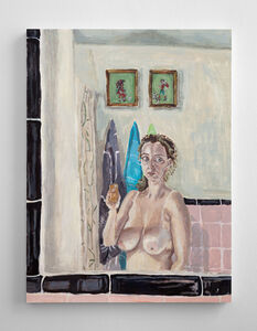 Polina Barskaya, 'Pink Portrait', 2016
