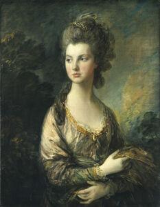 Thomas Gainsborough, 'The Hon. Mrs. Thomas Graham', ca. 1775/1777