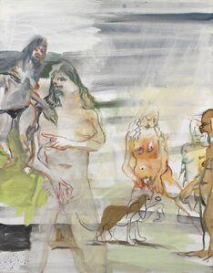 Siegfried Anzinger, 'Urteil eines Hündchens', 2007