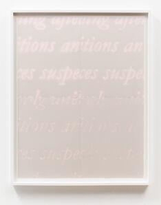 Cody Trepte, 'To Transcribe', 2015
