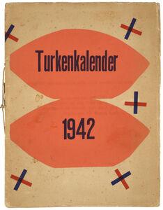 Hendrik Nicolaas Werkman, 'Turkenkalender (M.HP 41 - 99)', 1942