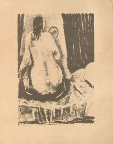 Arturo Martini, 'Nude from the Back', Early 20th Century