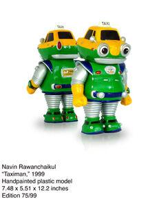 Navin Rawanchaikul, 'Taximan ', 1999
