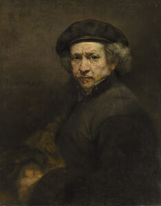 Rembrandt van Rijn, 'Self Portrait, 1659', 1659