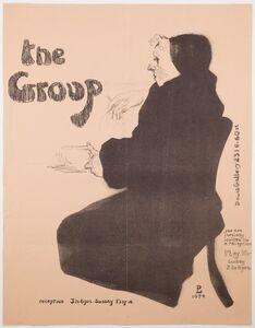 David Levine, 'The Group', 1954