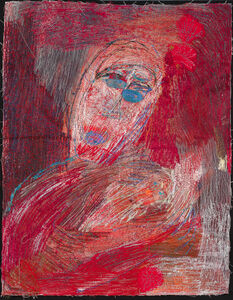 Alice Kettle, 'Mother and Baby, Red', 2019