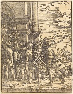 Albrecht Altdorfer, 'Joshua and Caleb', in or after 1520
