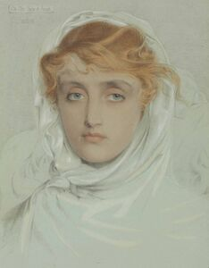 Anthony Frederick Augustus Sandys, 'The White Mayde of Avenel'