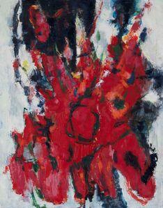 Renato Birolli, 'Energia di Rosso', 1958