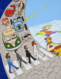 Donghun Yeo, 'Here comes the Big Parade-Abbey Road', 2015
