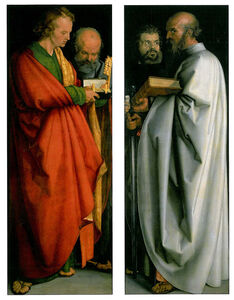 Albrecht Dürer, 'Four Apostles', 1526
