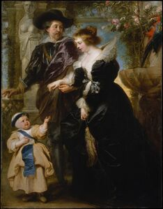Peter Paul Rubens, 'Rubens, His Wife Helena Fourment (1614–1673), and Their Son Frans (1633–1678)', ca. 1635