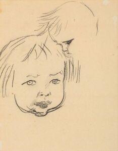 Augustus John, 'Studies of a child'