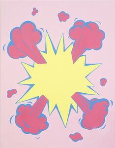 Kyunghwan Kwon, 'Occidental Explosion (pink)', 2014