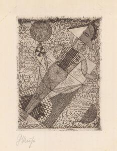 Georg Muche, 'STERNBILD (COGITO ERGO CREDO)', 1922