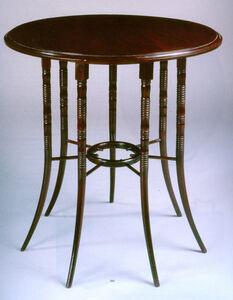 Edward William Godwin, 'Circular Table', 1876
