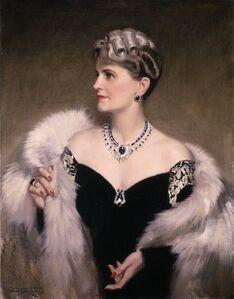 Frank O. Salisbury, 'Portrait of Marjorie Merriweather Post', 1946