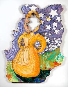 Gina Phillips, 'Stars Fell on Little Yellow Miss', 2014
