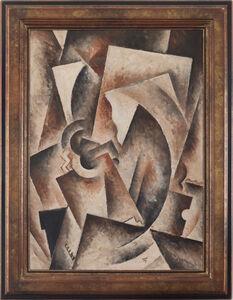 Robert Marc, 'Composition Ocher And Black', (1943-1993)