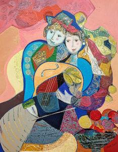 Brigitte Szpiro, 'Musique en coeur', 2019