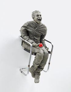 Juan Muñoz, 'One Laughing at the Red Ball', 2000
