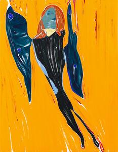 Nicola Tyson, 'Self portrait: Wings', 2020