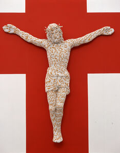 Sarah Lucas, 'Christ You Know It Ain't Easy', 2003