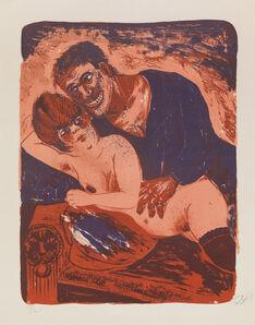 Otto Dix, 'MATROSE UND MÄDCHEN', 1923