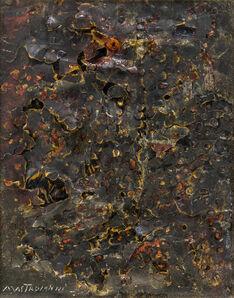Umberto Mastroianni, 'Cratere lunare'