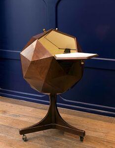 Ico Parisi, 'Polygonal Bar Cart', vers 1960
